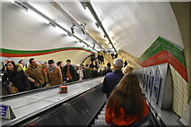 TQ2980 : Piccadilly Circus Underground Station by N Chadwick