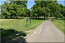 TQ6045 : Driveway, Somerhill Park by N Chadwick