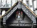 SO5140 : Coat of Arms on the Old House by Philip Halling