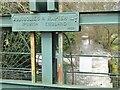 SU9948 : Guildford - Sluice Gate by Colin Smith