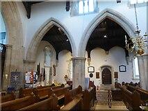 SU2771 : Inside Holy Cross, Ramsbury (f) by Basher Eyre