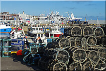 NJ9966 : Fraserburgh Harbour by Anne Burgess