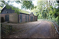 SU6376 : Path leading to the A329 Shooters Hill by Ian S