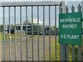 SK7334 : Merrivale Energy, Barnstone site by Alan Murray-Rust