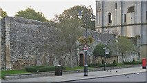 TL8564 : Bury St Edmunds Abbey precincts [4] by Michael Dibb