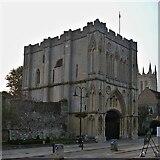 TL8564 : Bury St Edmunds Abbey precincts [5] by Michael Dibb