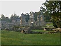 TL8564 : Bury St Edmunds Abbey precincts [11] by Michael Dibb