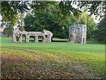 TL8564 : Bury St Edmunds Abbey precincts [12] by Michael Dibb