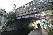TQ3483 : Mare Street Bridge (#51) by N Chadwick