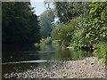 SJ6603 : River Severn at Ironbridge by Mat Fascione