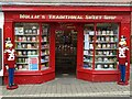 SO5174 : Mollie's Traditional Sweet Shop by Philip Halling