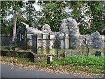 TL8564 : Bury St Edmunds Abbey precincts [33] by Michael Dibb
