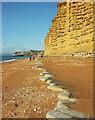 SY4689 : East Cliff Beach by Derek Harper