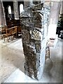 NT8947 : Anglo-Saxon pillar, St Cuthbert's Church, Norham by Oliver Dixon