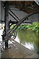 SD8332 : Crane at Burnley Wharf by Chris Allen