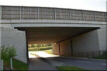 TQ6143 : A21 bridge by N Chadwick
