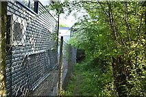 TQ6042 : Footpath by Industrial estate by N Chadwick