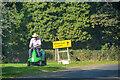 NT9932 : Doddington : B6525 Roadside by Lewis Clarke