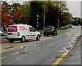 ST3091 : Open House white van, Almond Drive, Malpas, Newport by Jaggery