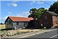 TM1854 : Barn conversion, The Green, Ashbocking by Simon Mortimer