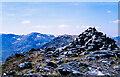 NN2497 : Summit cairn of Ben Tee by Trevor Littlewood