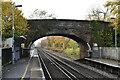 TQ9243 : Station Road Bridge by N Chadwick