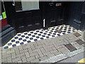SS5533 : Floor tiles, Artstore, Joy Street, Barnstaple by Robin Stott