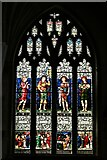 ST0207 : Cullompton, St. Andrew's Church: Stained glass window by Michael Garlick