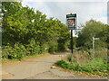 SZ5092 : Folly Lane, near Whippingham by Malc McDonald