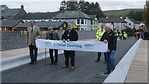 """NY4624 : """"I now declare the new Pooley Bridge open"""" by Cumbria County Council"""