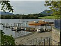 NY2622 : Landing stages at Keswick by Stephen Craven