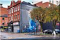 SJ8498 : London Coronavirus Nurse in Manchester by David Dixon