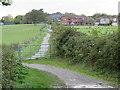 SZ4993 : Shared path near Cowes by Malc McDonald