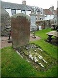 NO5402 : Unusual gravestone by Richard Sutcliffe