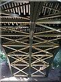 SZ0790 : Victorian iron bridge over the chine by Neil Owen