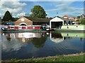SJ9033 : Boatyard, Stone, Staffordshire by Christine Johnstone