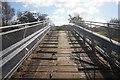 SU5494 : Farm bridge over Clifton Cut by Ian S