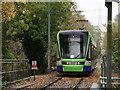 TQ2669 : Tramlink by Peter Trimming