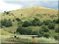 SO7646 : Malvern Hills - Table Hill by Colin Smith