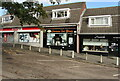 ST3091 : Open shop and two closed shops, Larch Grove, Malpas, Newport by Jaggery