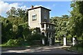 TM1251 : Barham Lodge, Shrubland Hall Estate by Simon Mortimer