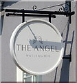 TF6111 : Sign for the Angel public house, Watlington by JThomas