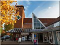 SK9771 : Entrance to the City Square Shopping Centre, Lincoln by Oliver Mills