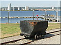 ST1973 : Cardiff Bay - Coal Truck by Colin Smith