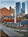SJ8397 : Albert's Shed and Manchester's Changing Skyline by David Dixon