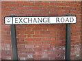 SU6300 : Exchange Road, Portsmouth by David Hillas