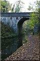 SJ8808 : Shropshire Union Canal: Giffard's Cross Bridge, south of Brewood by Christopher Hilton