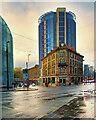 SJ8498 : Hotel Indigo, The Former City Buildings by David Dixon