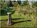 SD1096 : Sundial in the garden at Muncaster by Stephen Craven