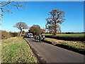 ST8683 : Cyclists on the Fosse Way by Vieve Forward